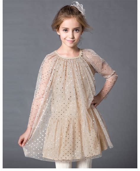 pattern of net dresses aged4 19 summer girl dress girls princess dress mesh dress