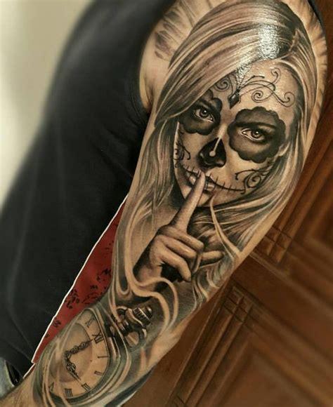 tattoo oriental no braço 25 melhores ideias de tatuagem catrina no pinterest