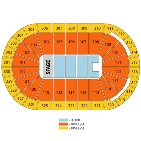 rogers arena floor seating plan how good are 30th row floor seats at an arena concert