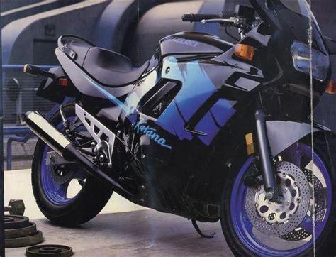 1993 Suzuki Katana 600 Suzuki Gsx600f Brochures