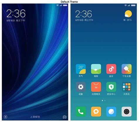 miui themes not applying miui 9 interface split screen lock screen shortcut and