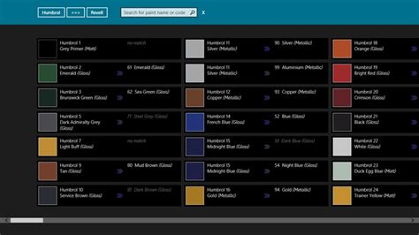 humbrol paint converter for windows 8 and 8 1