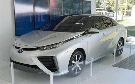 Toyota Fcv Look 2015 Toyota Fcv