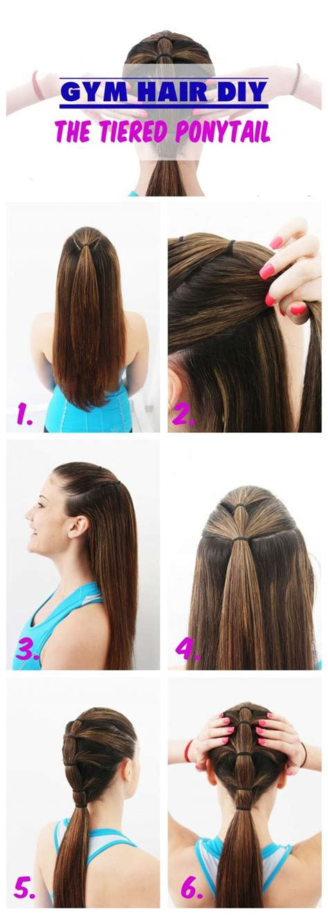 Sports Hairstyles by 7 Easy Ways To Do Your Hair For Sports
