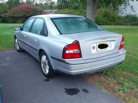 how to fix cars 2000 volvo s80 auto manual buy used 2000 volvo s80 2 9 sedan 4 door 2 9l for parts or repair in bridgewater new jersey