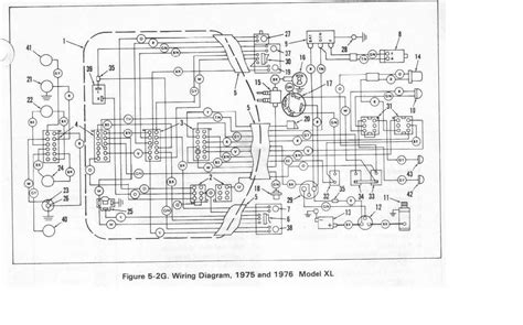 1975 harley davidson 1200 wiring diagram wiring diagrams