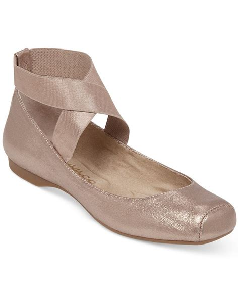 pointe shoe inspired flats mandalaye elastic ballet flats