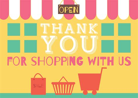 Thank You For Shopping With Us Template thank you for shopping with us template certified and otto essential 10ml usfda