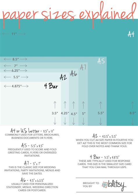 wedding invitation size chart 25 best ideas about envelope size chart on