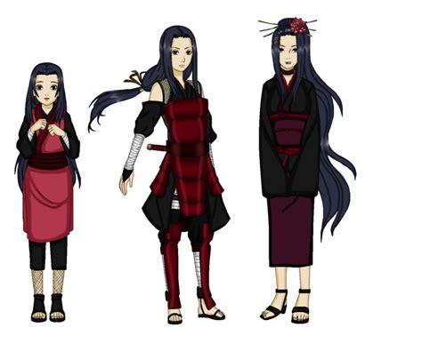 Naruto oc honoka uchiha the wife of tobirama by darklordluzifer on deviantart