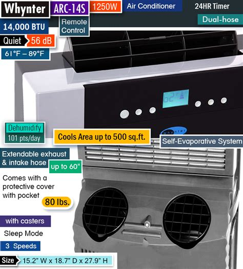 small quiet portable air conditioner best portable air conditioner for the money