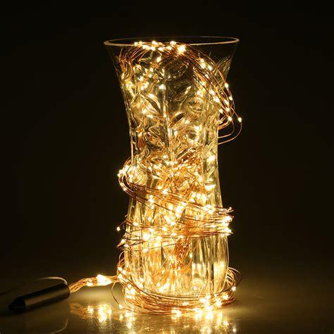 copper led string lights 360 led copper wire branch string lights light l