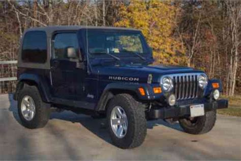 Jeep Wrangler Pricing Jeep Wrangler Rubicon Price Reduced 2006 Garagekept
