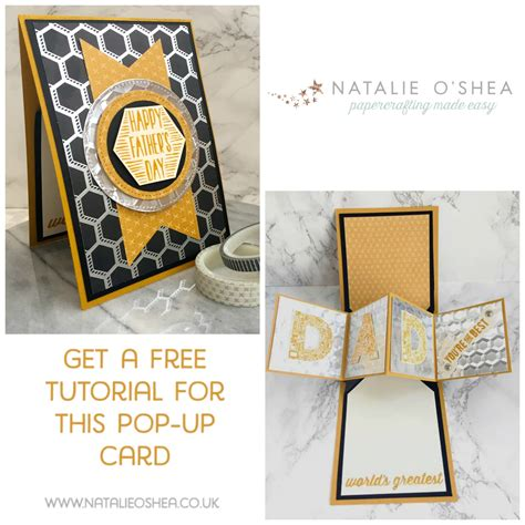 Handmade Pop Up Cards Tutorials - handmade card tutorial using stin up cool treats bundle