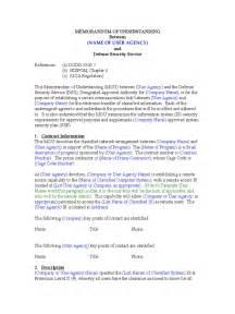 template for memorandum of understanding in business memorandum of understanding template word best business