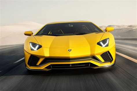 lamborghini car 2017 lamborghini aventador s unveiled by car magazine