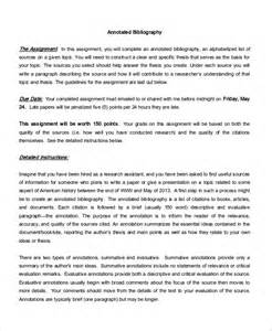 annotated essay exle annotated bibliography essay writing