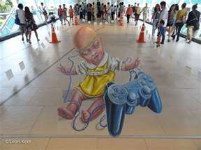 3d Artist by 3d And On 3d And Sidewalk