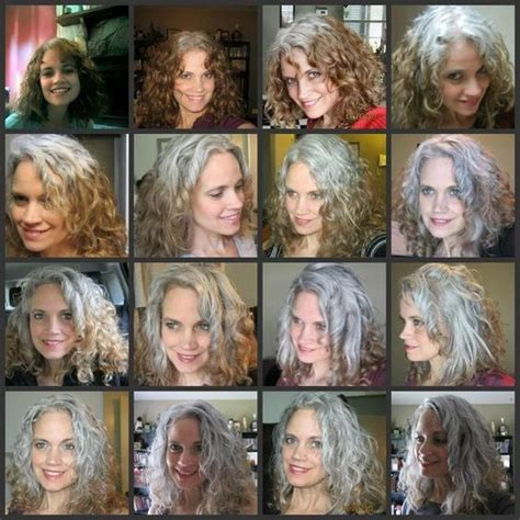 hispanic grey hair transition beautiful coloured hair and transitioning hair on pinterest