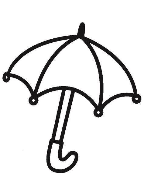 umbrella coloring pages printable umbrella coloring pages for childrens printable for free