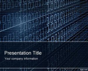 cyberspace powerpoint template