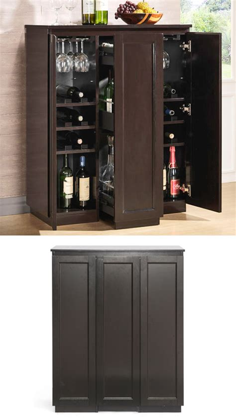 Contemporary Bar Cabinet with Modern Bar And Wine Cabinets