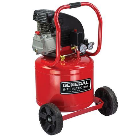 general international 11 gal 2 hp lubricated portable