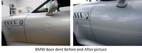 Door Dent Repair by Bmw Door Dents Fixed By Pdr Process Professional