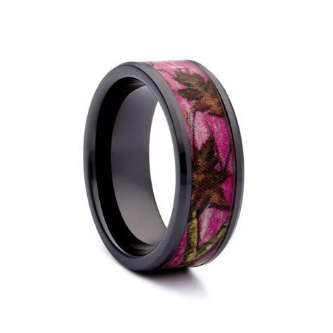 Wedding Bands Camo by Womens Pink Camo Wedding Rings Camo Wedding Ring Camo