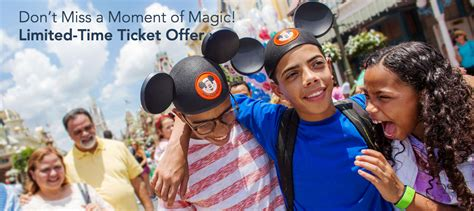 Disney World Ticket Giveaway On Facebook 2017 - hot walt disney world 3 day tickets only 139 fl residents plus discounts