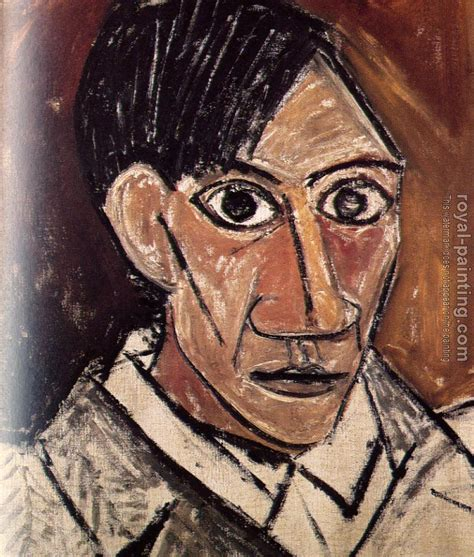 libro czanne portraits self portrait ii by pablo picasso oil painting reproduction