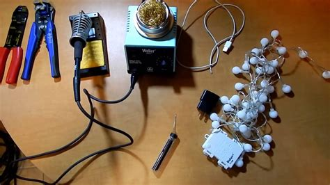 diy how to convert battery powered lights to ac powered