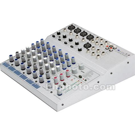 Mixer Audio Alto alto l8 8 channel audio mixer l 8 b h photo