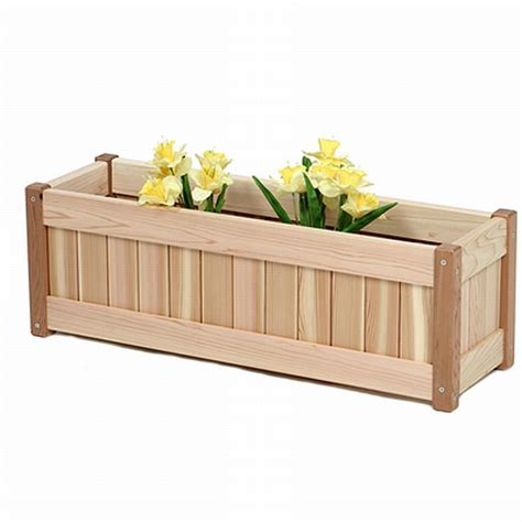Plans For Building Wooden Planter Boxes by Wood Planter Box Plans Free Diy Woodworking Projects