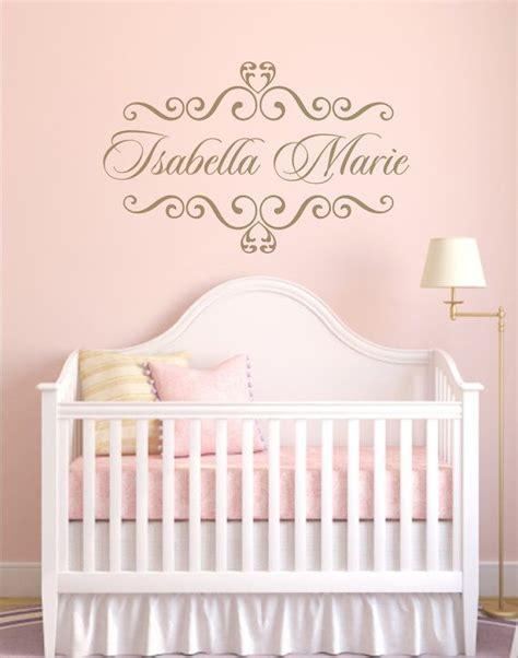 vinyl decal personalized baby nursery name vinyl wall