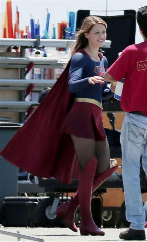 melissa benoist supergirl in pantyhose pornhugo