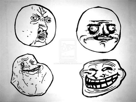 Types Of Meme Faces - troll faces me gusta www pixshark com images galleries