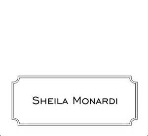 ms word place card template 9 best images of place card template word diy wedding