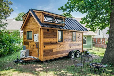 small house in tiny house town the cedar mountain from new frontier tiny homes