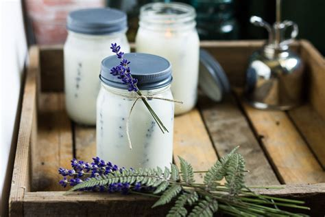 Pretty Jar Candles by Pressed Flower Jar Candles For Outdoor