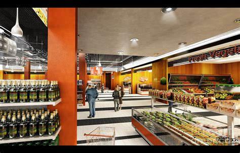 supermarket interior design supermarket interior digital by dotdesign memusleh