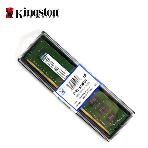 Ram 4gb Ddr4 kingston desktop memory 4gb 8gb 2133mhz ddr4 non ecc cl15 dimm 1rx8 1 2 low voltage memory ram