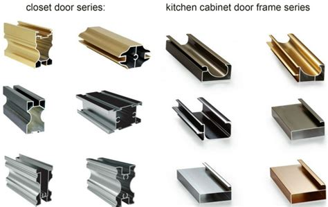 Good Quality Kitchen Cabinets low price but good quality aluminium section for sliding