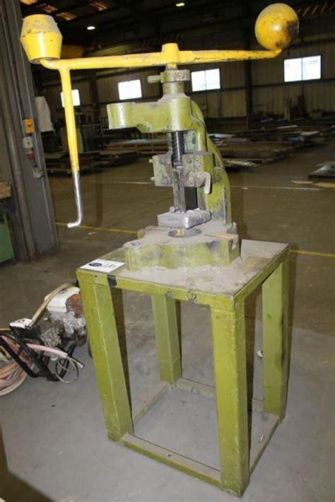 sweeney fly press  sale machinery locatorcom