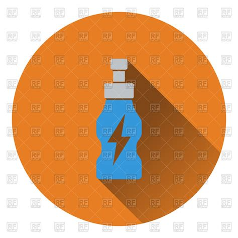 energy drink icon icon of energy drinks bottle vector image 115697 rfclipart