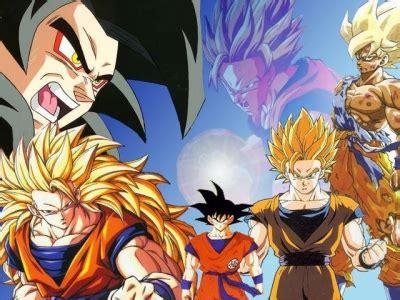 imagenes de goku y sus fases fases de goku anime zone dragon ball