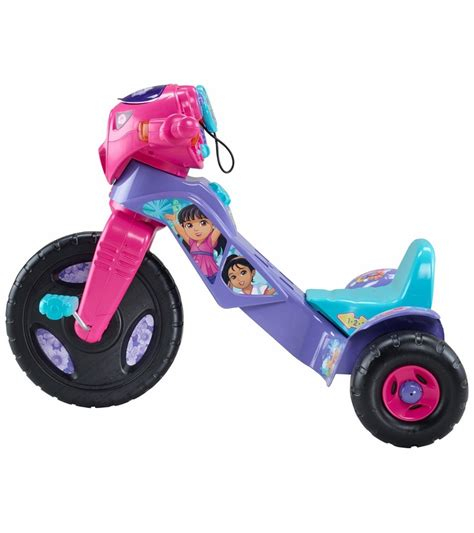 Fisher Price Lights Sounds Trike Dora