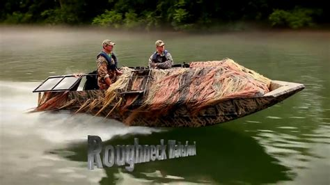 duck hunting boat r 2017 lowe roughneck waterfowl series duck boats youtube