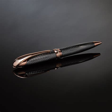 rose gold aston martin aston martin pen chrome rose gold ball point