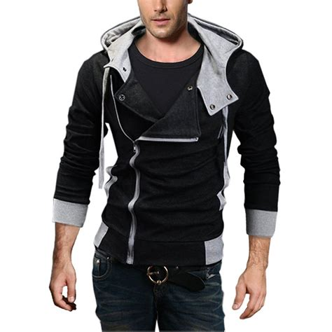Hoodie Alan Walker 02 V263 djt oblique zipper hoodie casual mens clothing